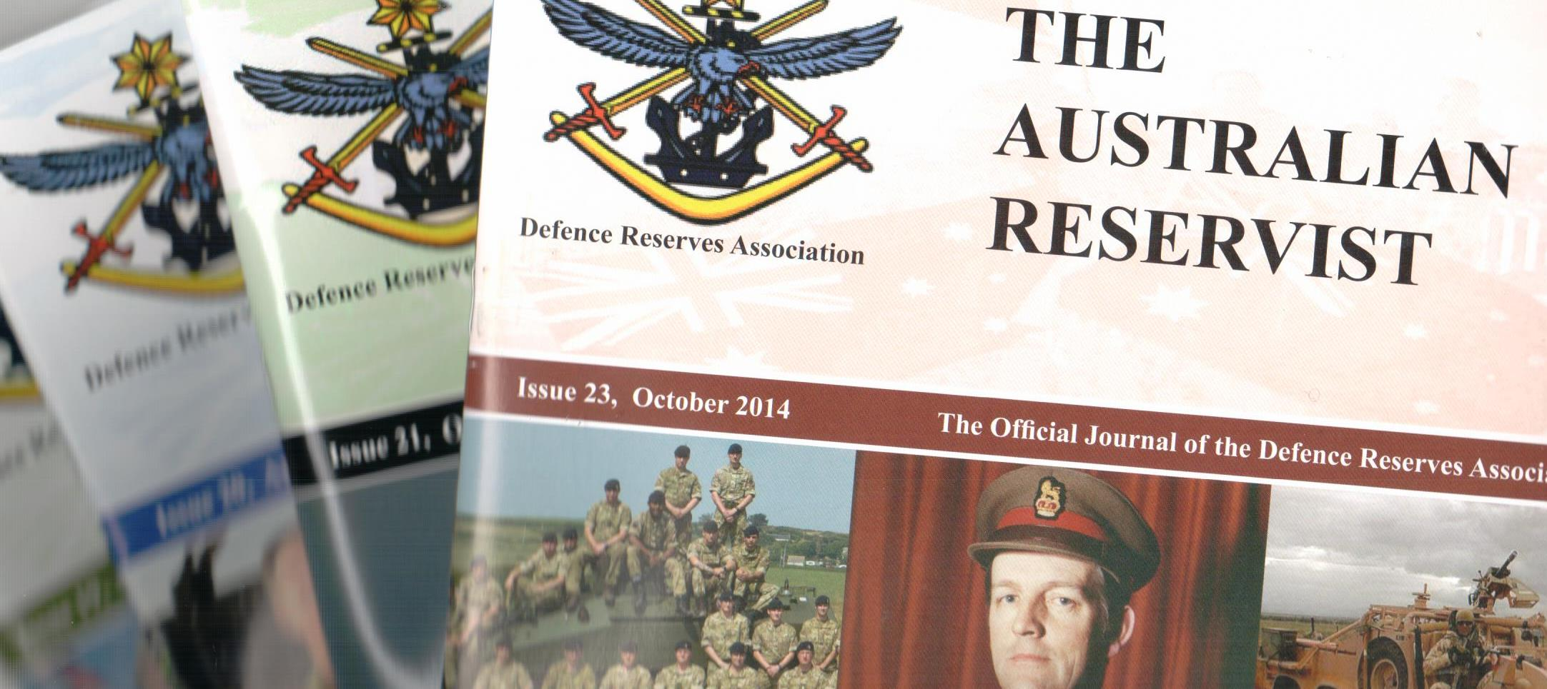 The DRA Journal - The Australian Reservist