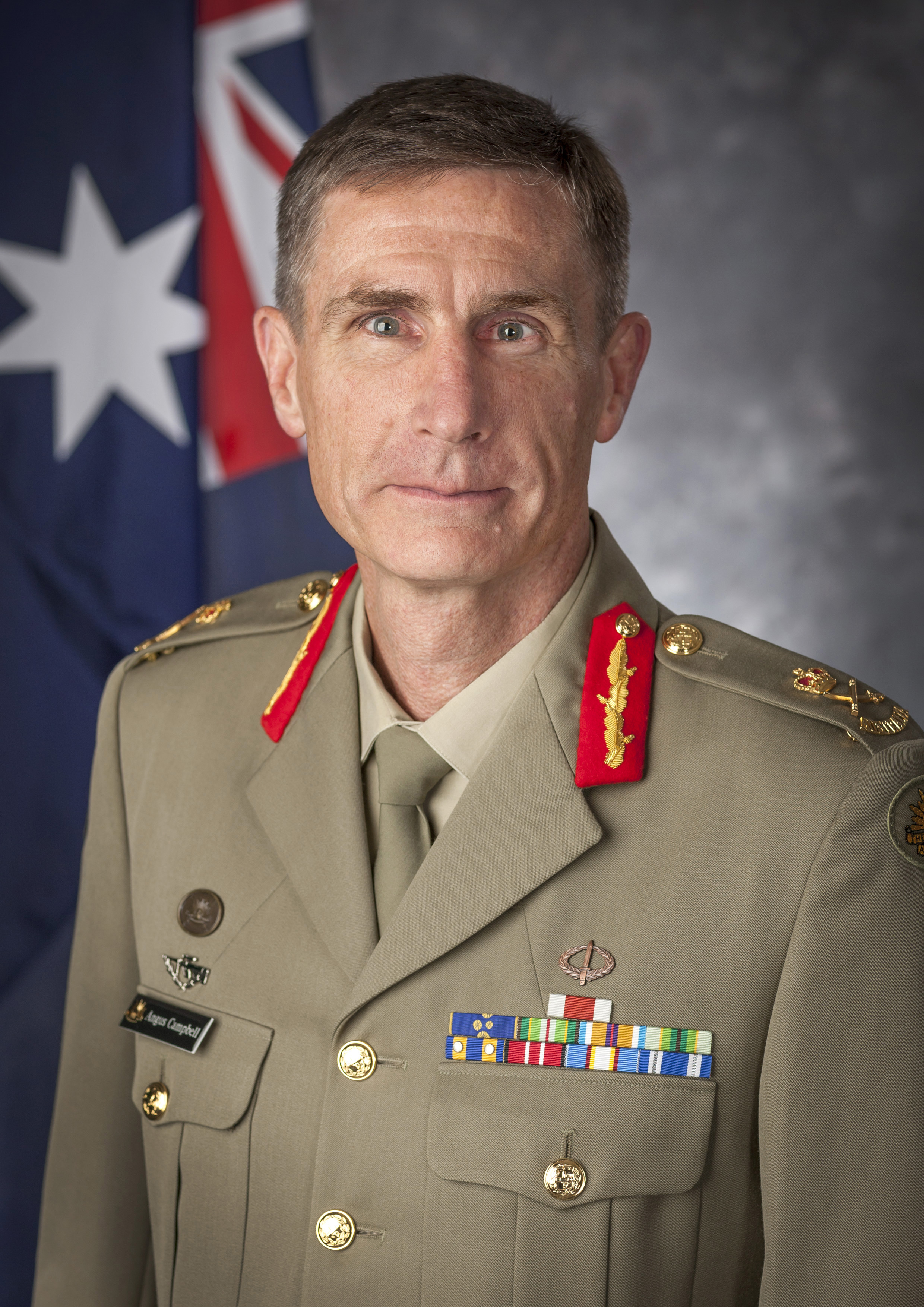 Chief of Army, Lieutenant General AJ Campbell DSC, AM